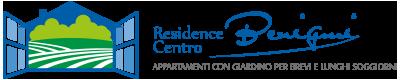 Logo residence centro benigni orizzontale
